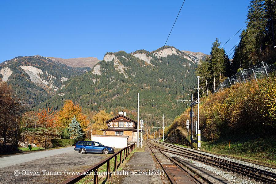 "Bahnhof ""Sils im Domleschg"""