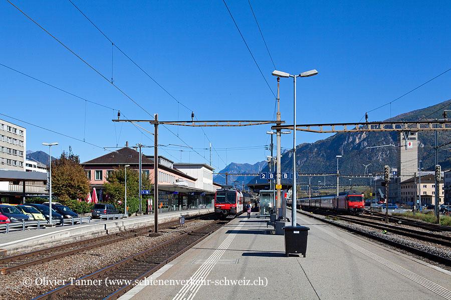 "Bahnhof ""Sion"""