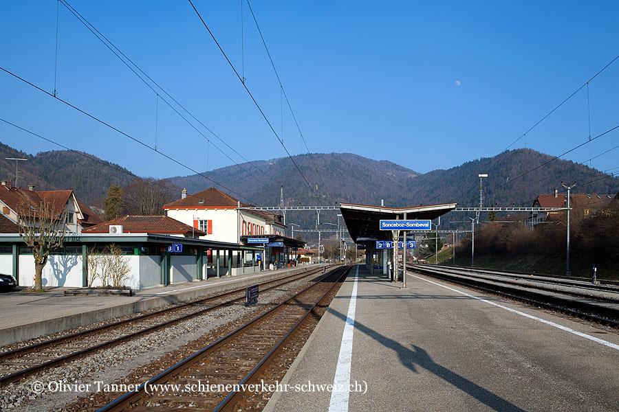 """Bahnhof """"Sonceboz-Sombeval"""""""
