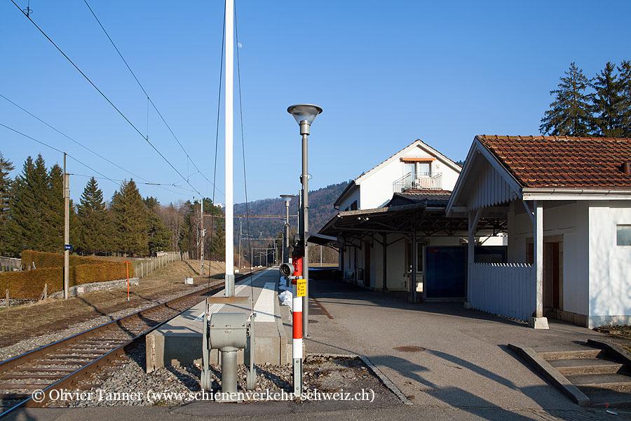 """Bahnhof """"Sonvilier"""""""
