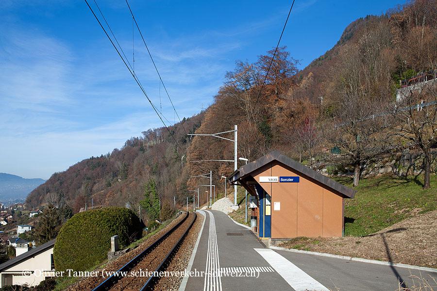 """Bahnhof """"Sonzier"""""""