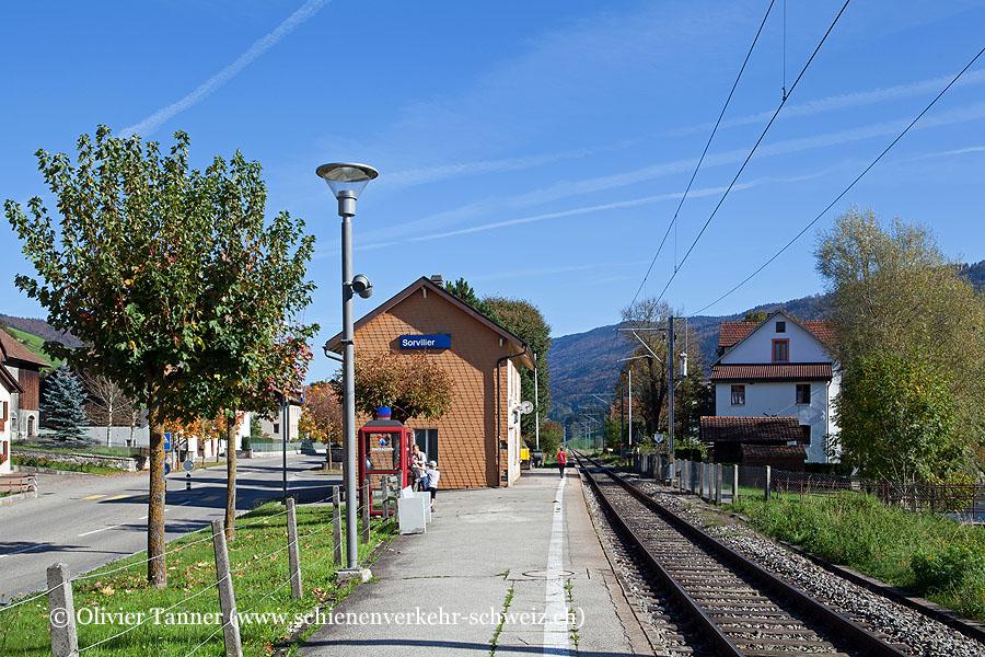 """Bahnhof """"Sorvilier"""""""