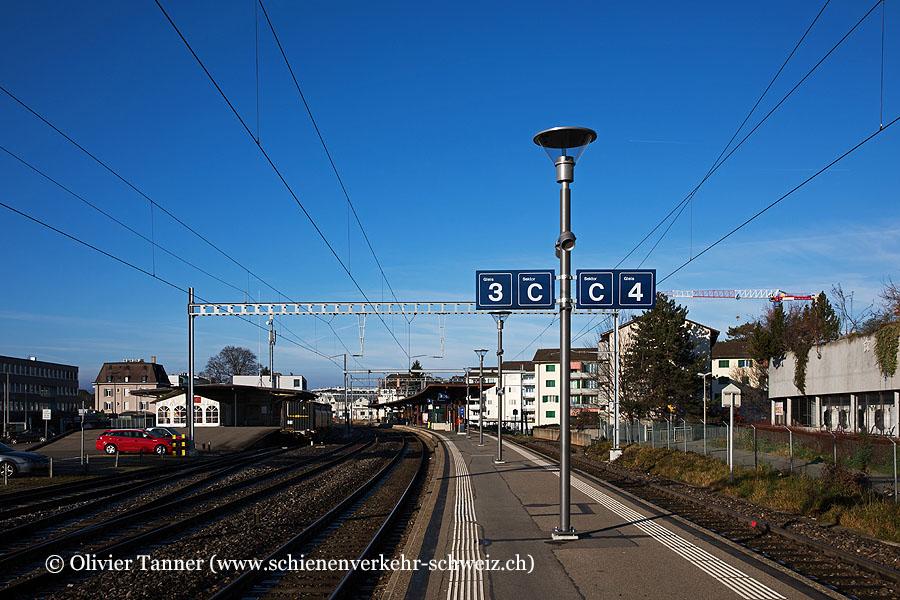 """Bahnhof """"Stäfa"""""""