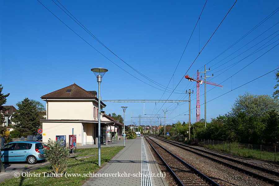 "Bahnhof ""St-Blaise-Lac"""