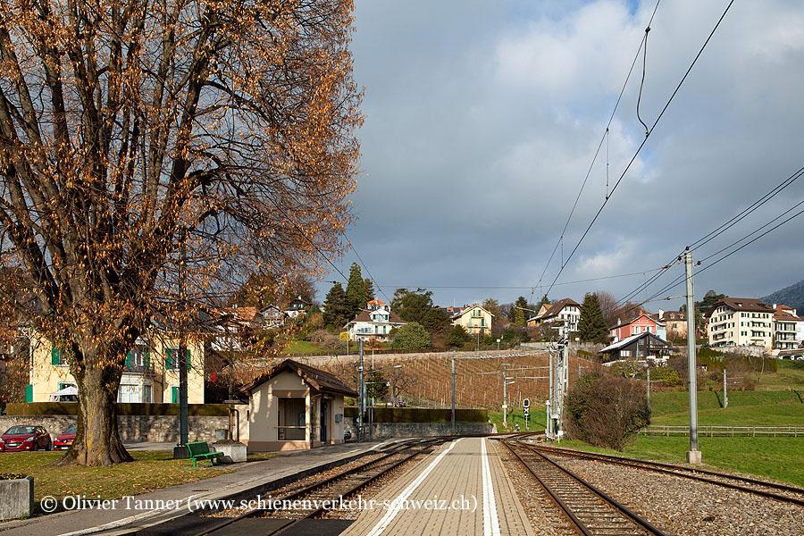 """Bahnhof """"St-Légier-Gare"""""""