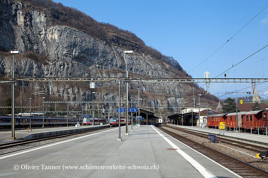 "Bahnhof ""St-Maurice"""