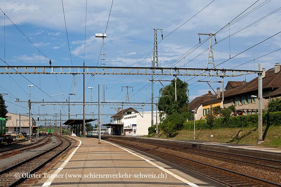 """Bahnhof """"St-Prex"""""""