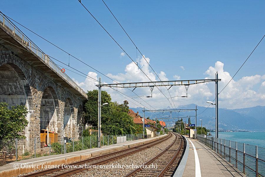 """Bahnhof """"St-Saphorin"""""""