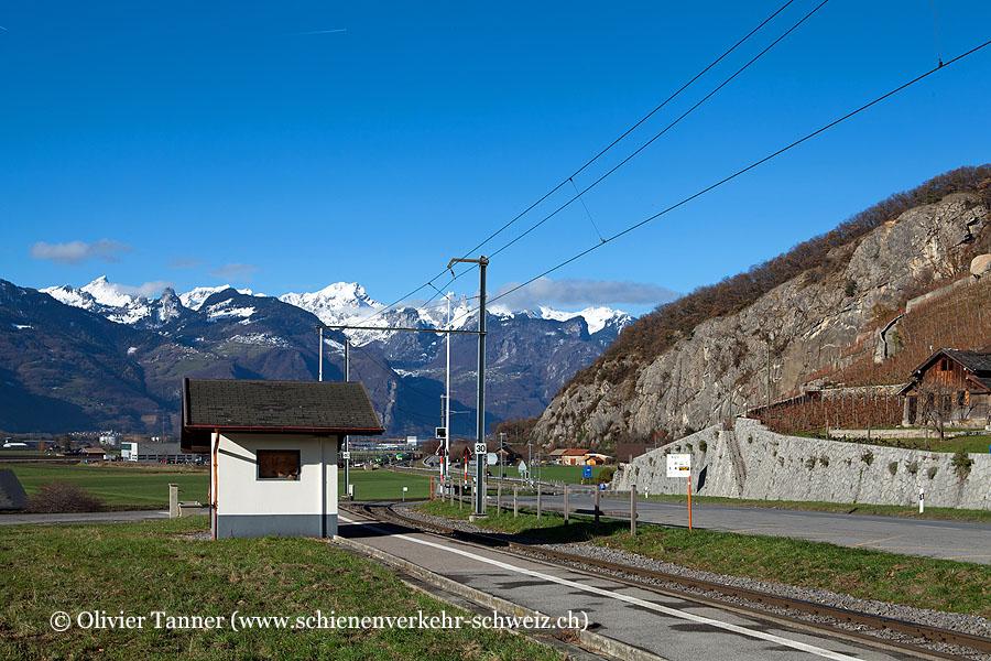 """Bahnhof """"St-Triphon-Village"""""""
