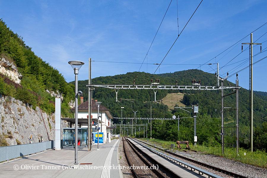 """Bahnhof """"St-Ursanne"""""""