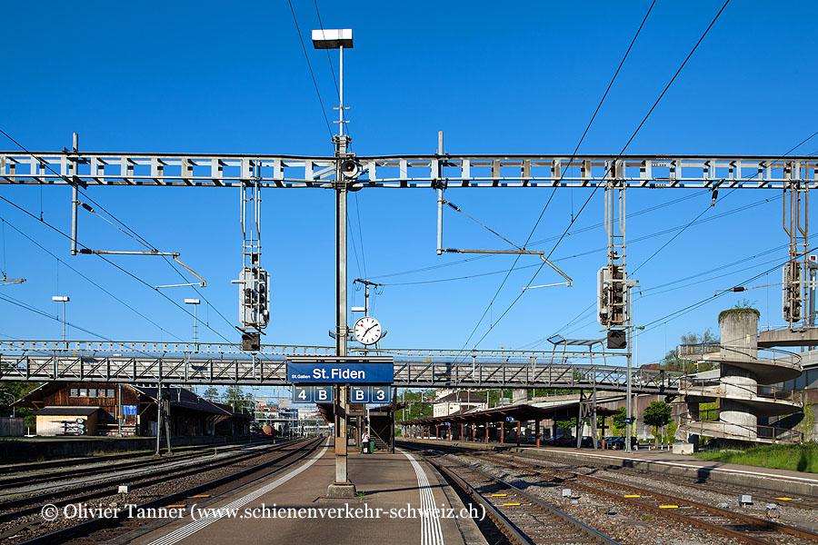 """Bahnhof """"St. Gallen St. Fiden"""""""