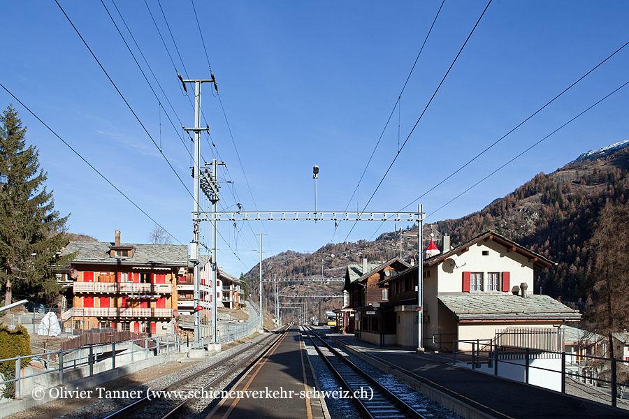 """Bahnhof """"St. Niklaus"""""""