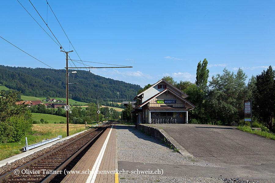 """Bahnhof """"Stalden i.E."""""""
