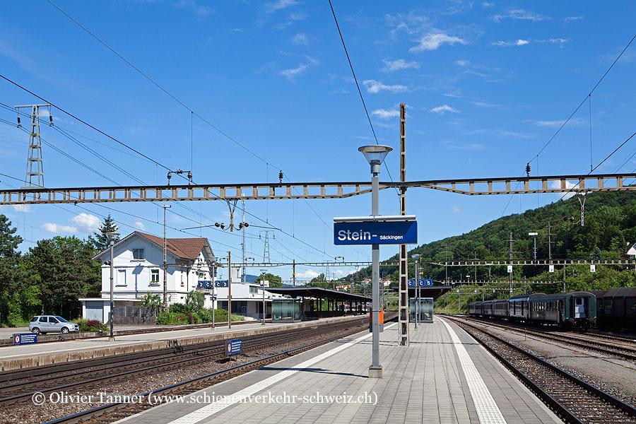 """Bahnhof """"Stein-Säckingen"""""""
