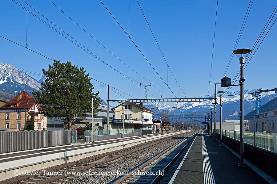 """Bahnhof """"Steinen"""""""