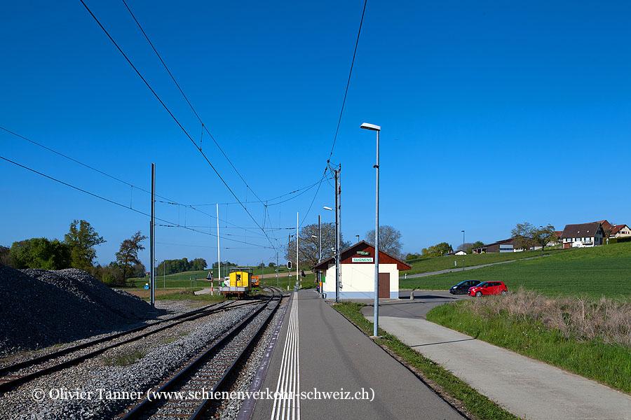 """Bahnhof """"Sugnens"""""""