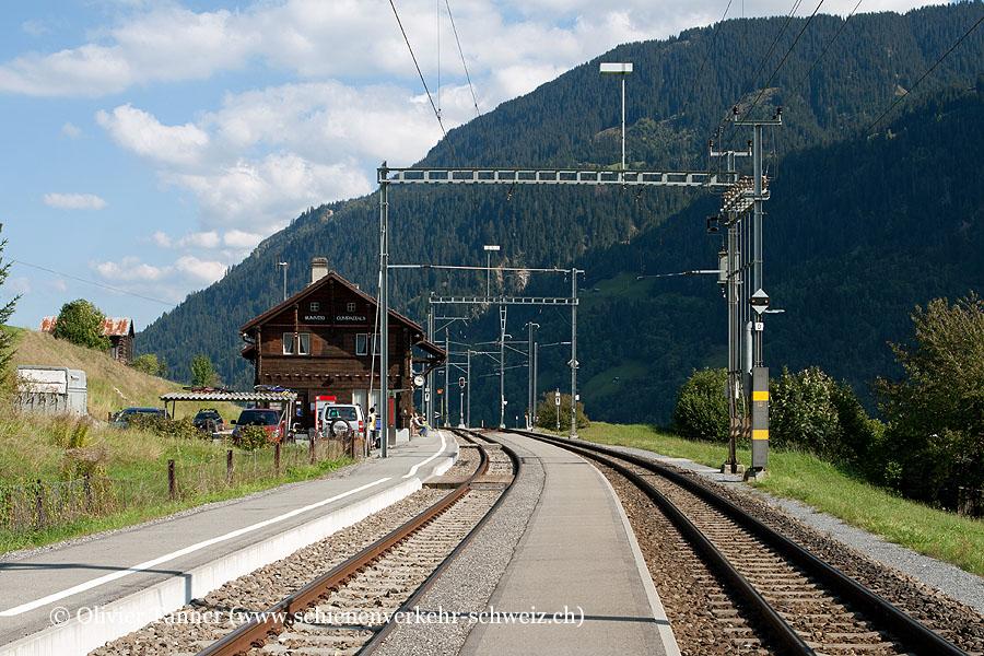 """Bahnhof """"Sumvitg-Cumpadials"""""""