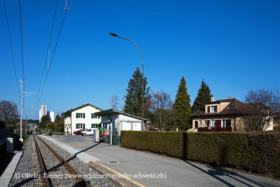 """Bahnhof """"Sur Roche"""""""