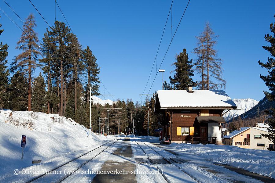 """Bahnhof """"Surovas"""""""