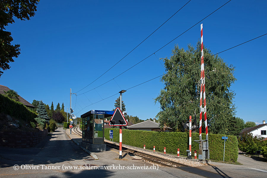 """Bahnhof """"Sus-Châtel"""""""