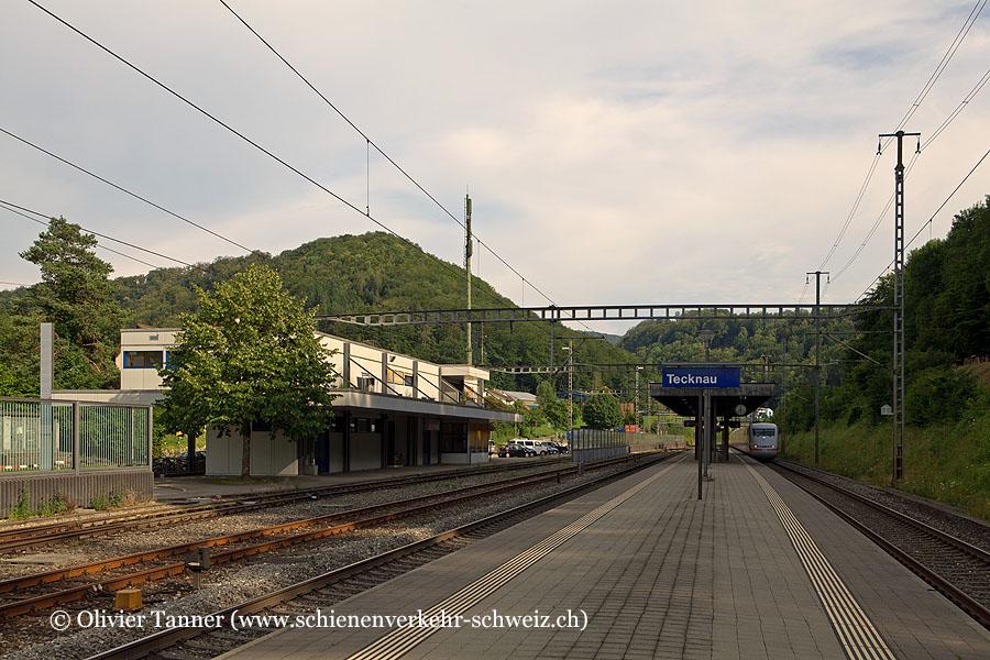 "Bahnhof ""Tecknau"""