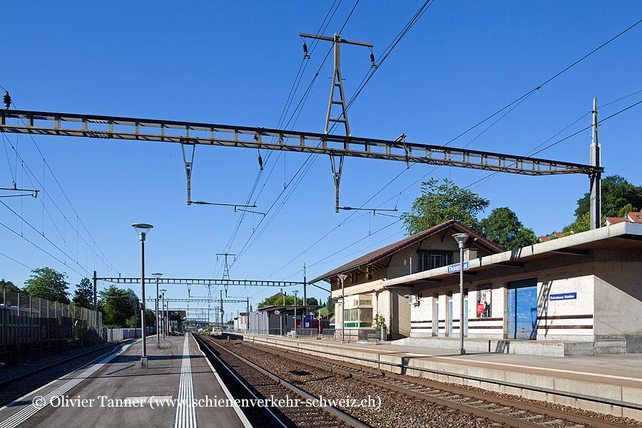 """Bahnhof """"Thörishaus Station"""""""