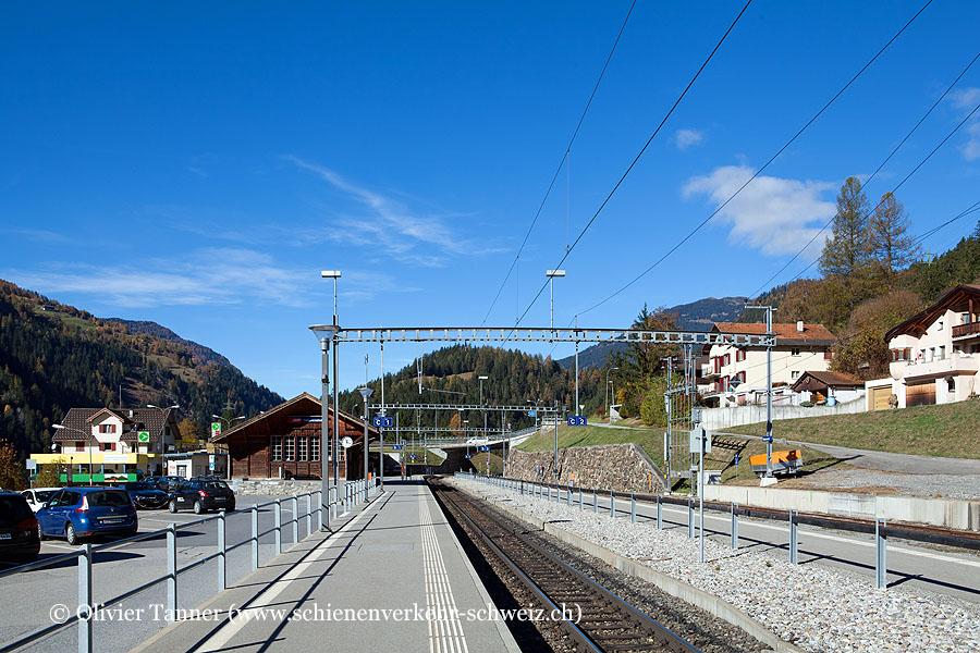 "Bahnhof ""Tiefencastel"""