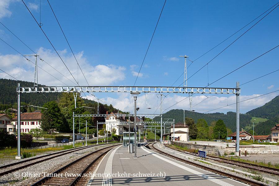 "Bahnhof ""Travers"""