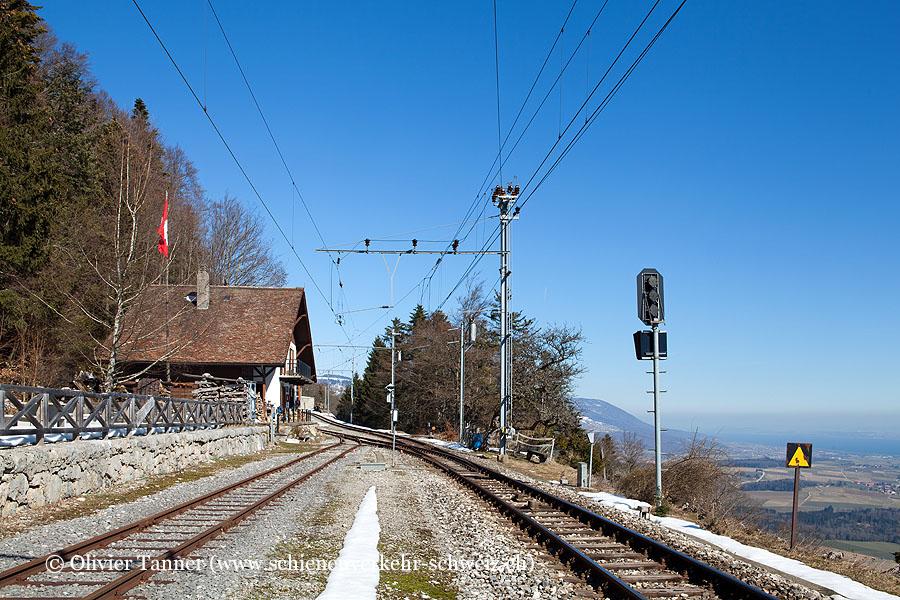 """Bahnhof """"Trois-Villes"""""""