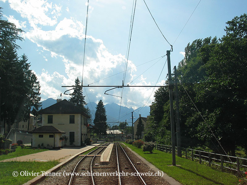 "Bahnhof ""Trontano"""
