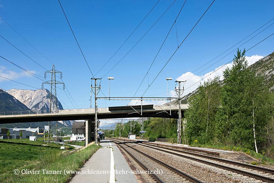 """Bahnhof """"Turtmann"""""""
