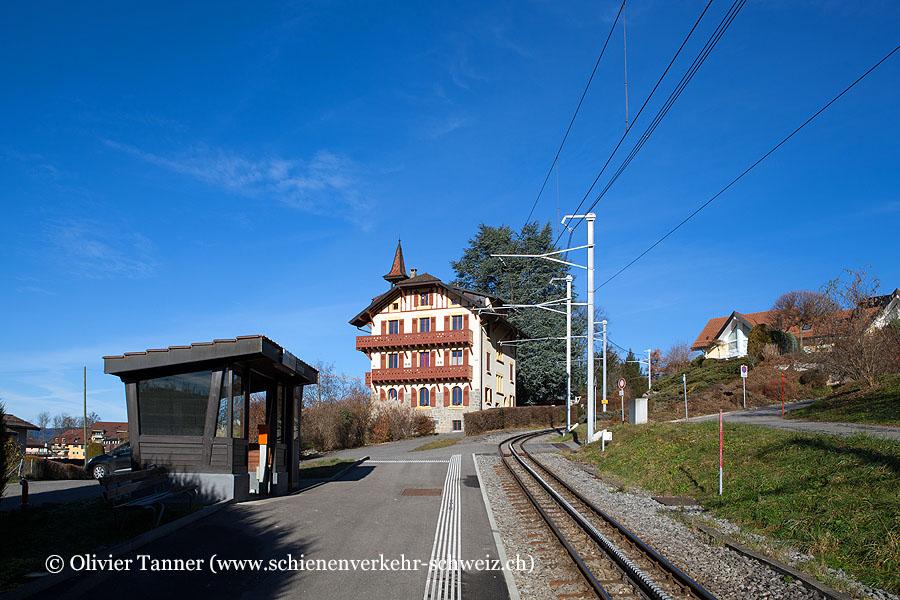 """Bahnhof """"Tusinge"""""""