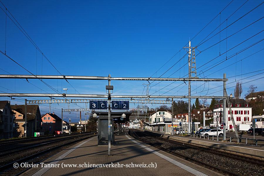 """Bahnhof """"Uetikon"""""""