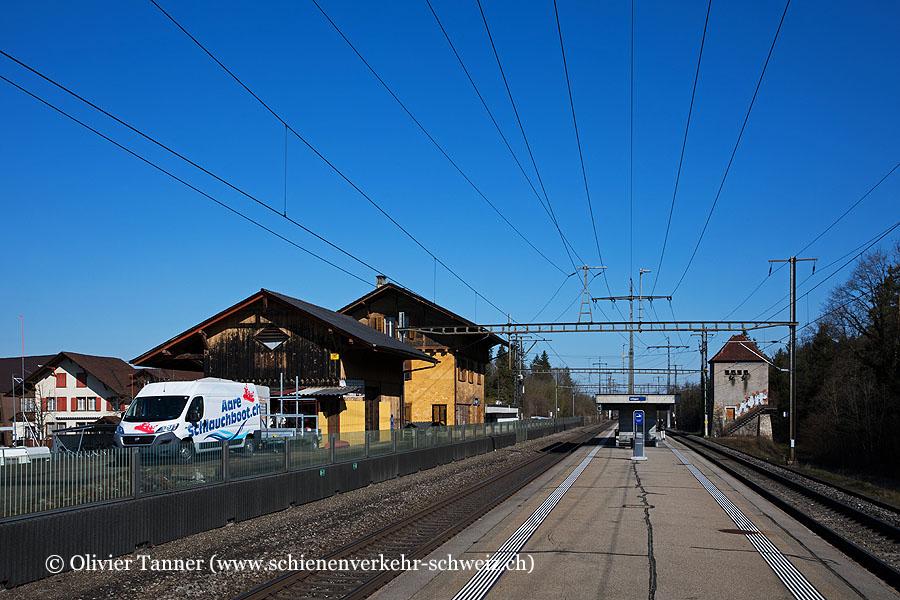 "Bahnhof ""Uttigen"""