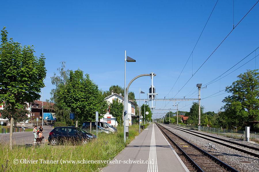 """Bahnhof """"Uttwil"""""""