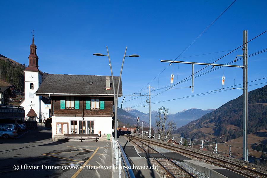 "Bahnhof ""Val-d'Illiez"""
