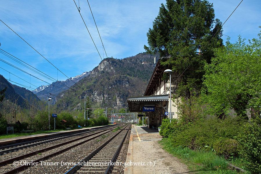 """Bahnhof """"Varzo"""""""