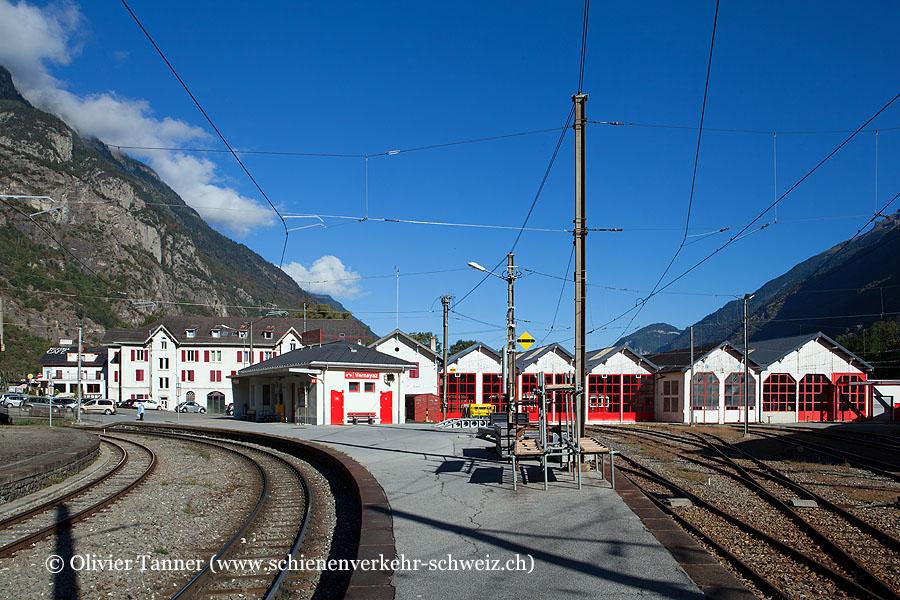 """Bahnhof """"Vernayaz MC"""""""