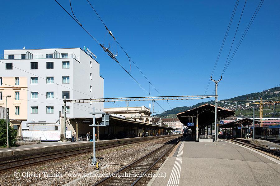 """Bahnhof """"Vevey"""""""