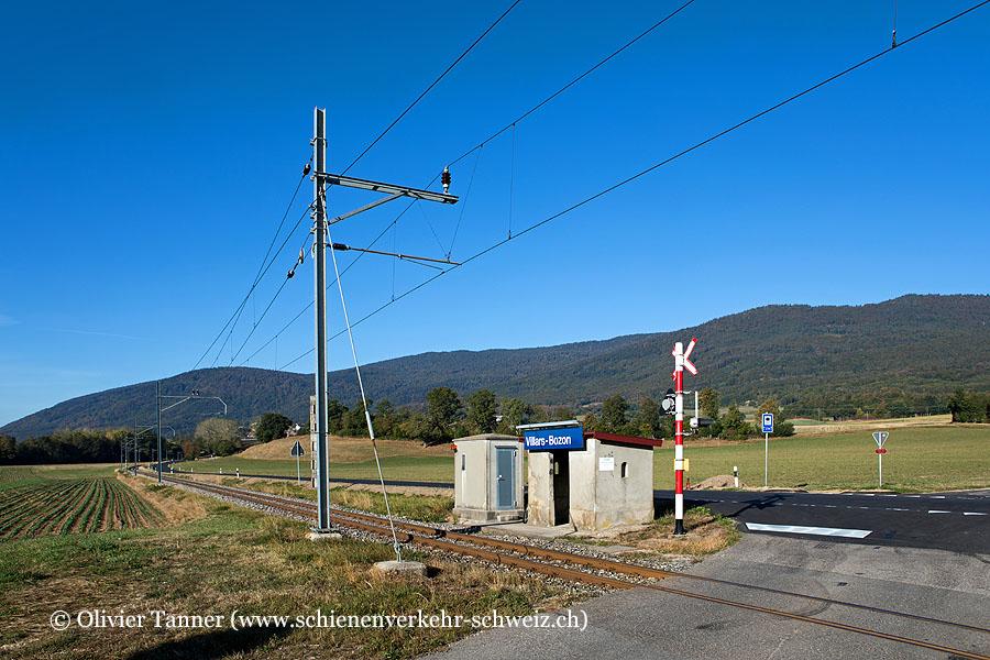 "Bahnhof ""Villars-Bozon"""