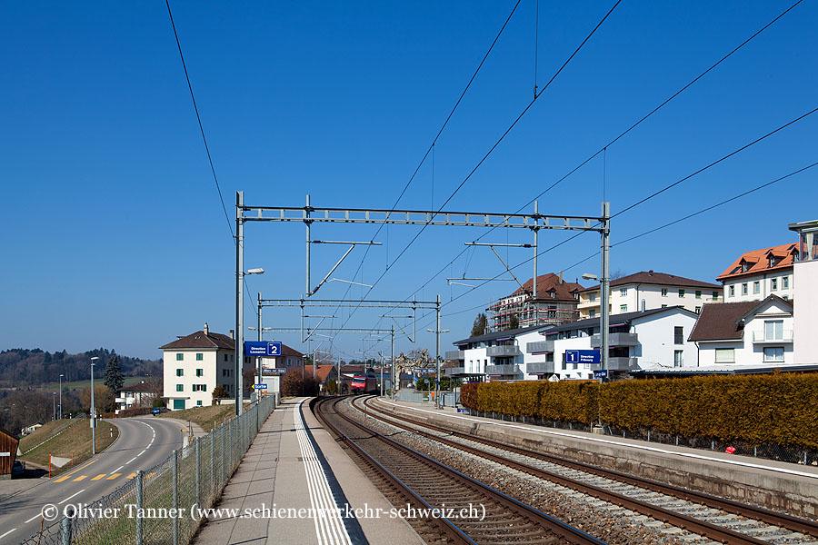 """Bahnhof """"Villars-sur-Glâne"""""""