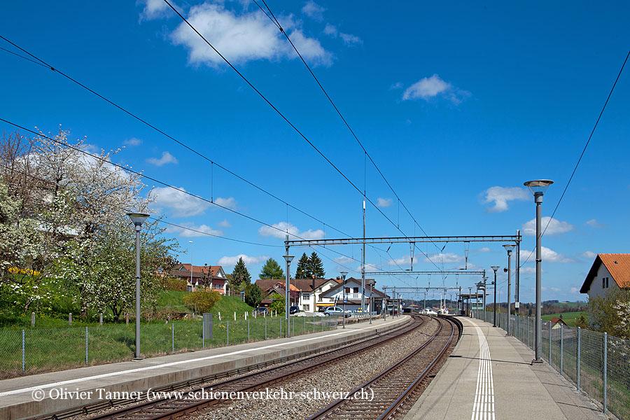 "Bahnhof ""Villaz-St-Pierre"""