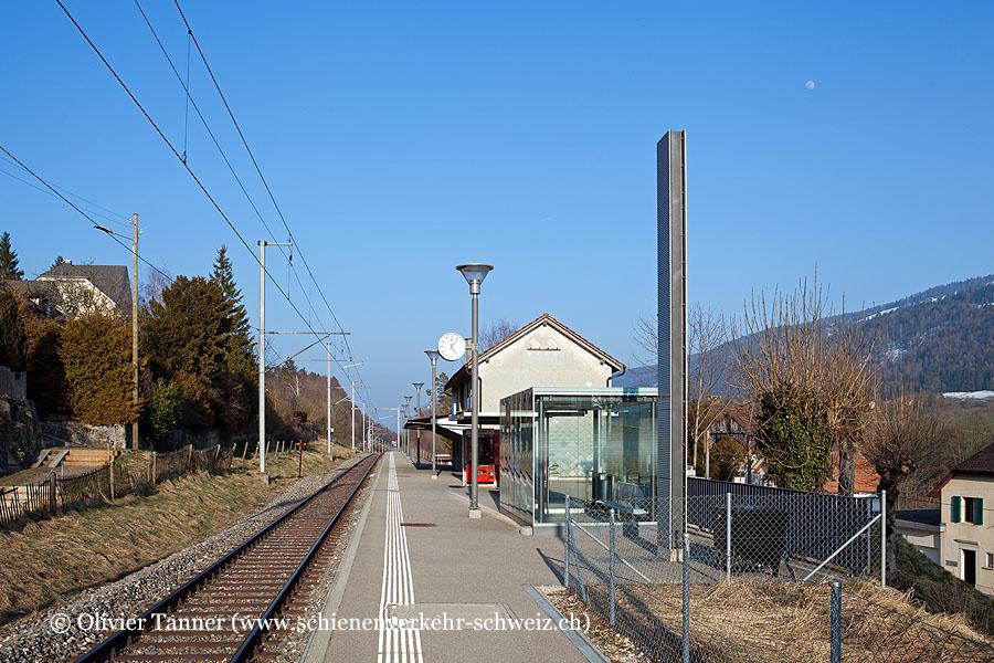 "Bahnhof ""Villeret"""