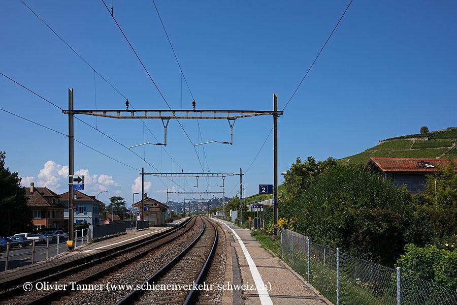"""Bahnhof """"Villette VD"""""""