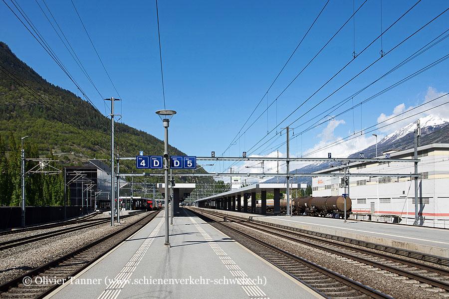 """Bahnhof """"Visp"""""""