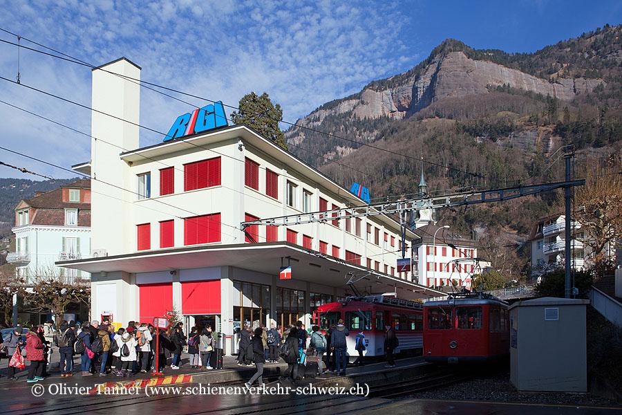"""Bahnhof """"Vitznau"""""""
