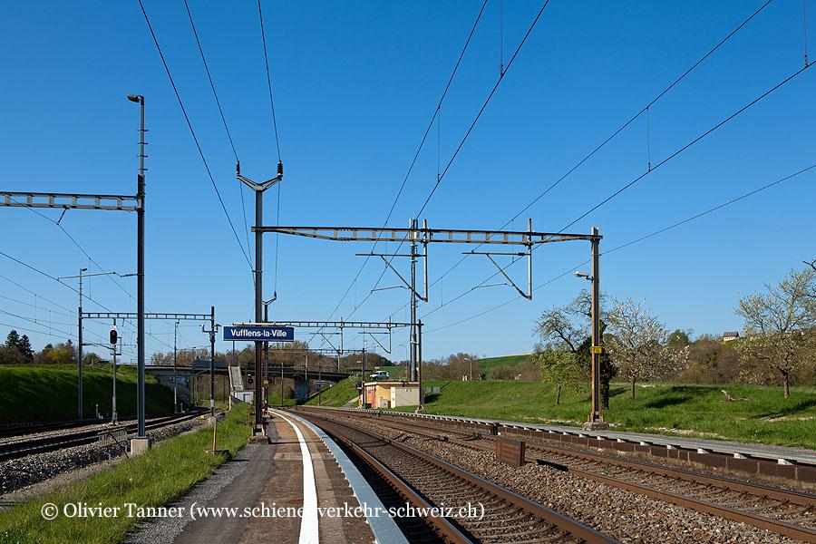 """Bahnhof """"Vufflens-la-Ville"""""""