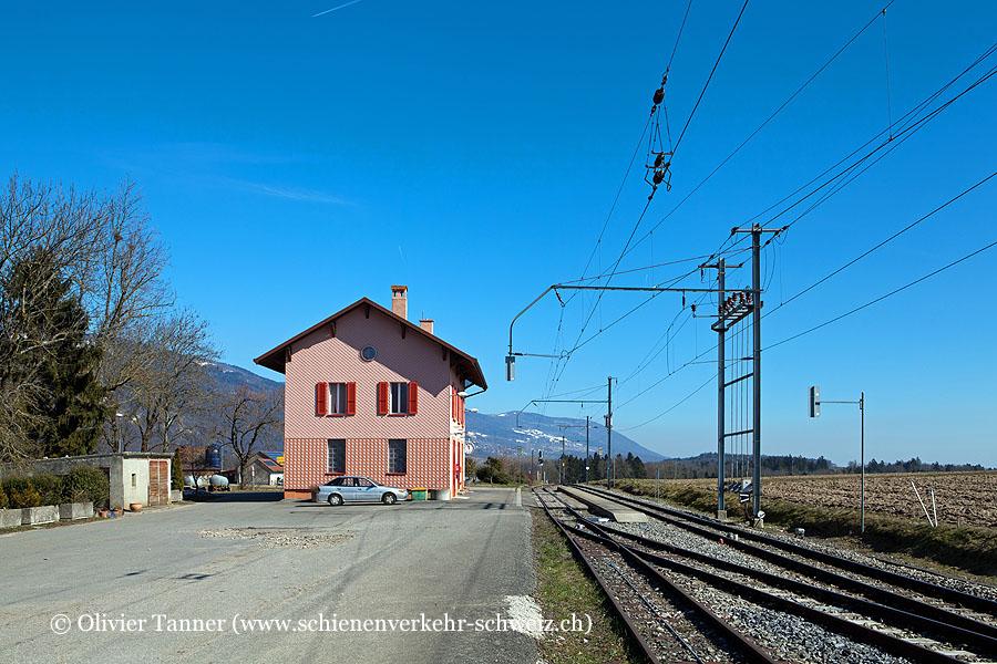 "Bahnhof ""Vuiteboeuf"""