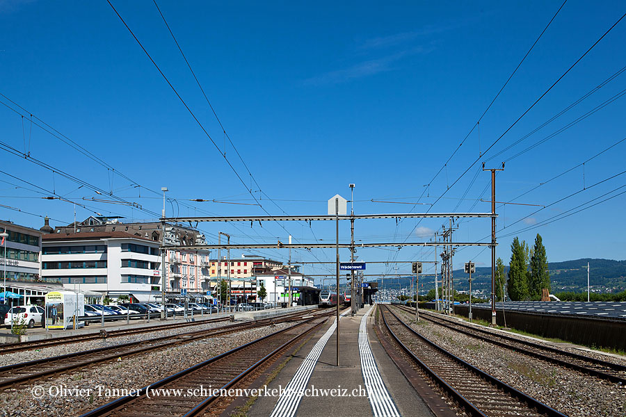 """Bahnhof """"Wädenswil"""""""