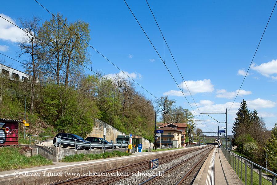 "Bahnhof ""Wünnewil"""